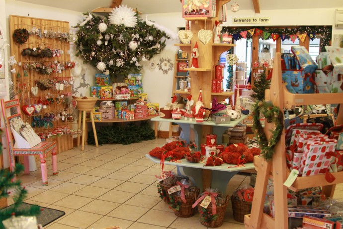 The gift shop showing decorations and gift ideas