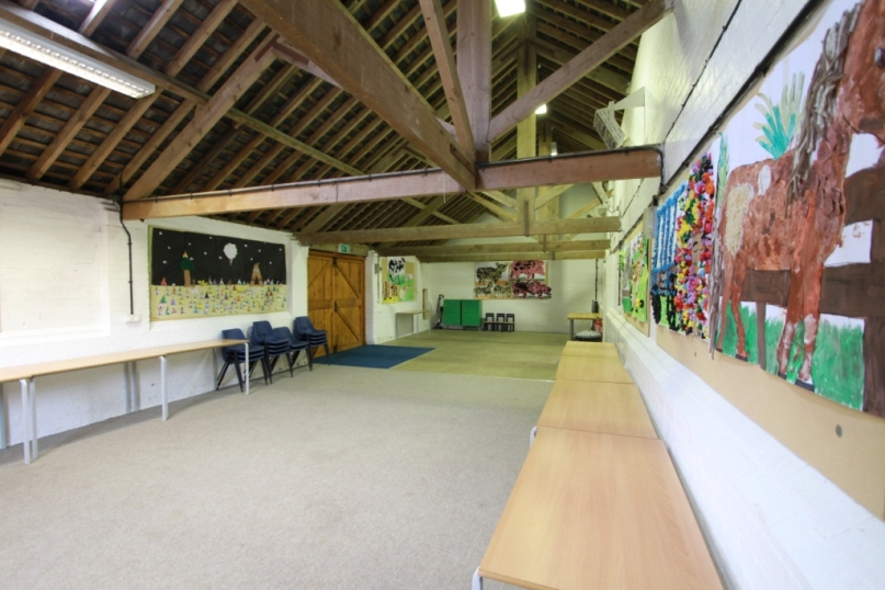 View of the Education Room used for groups of schools or birthday parties