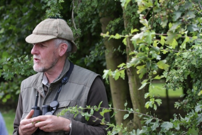 Nigel our gamekeeper on one of his brilliant nature walks