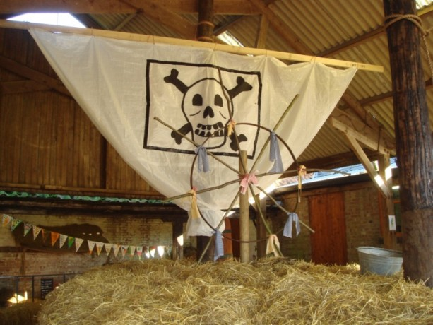 A Pirate ship created in the Show Yard