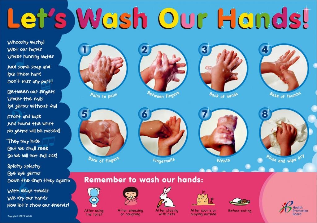 1 - hand washing