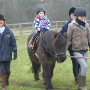 Pony Rides for the charity - Riding for the Disabled