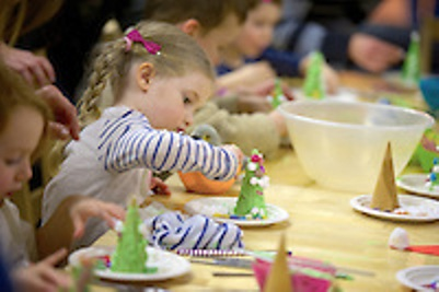 Activities at the Father Christmas events