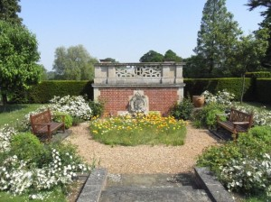 The gorgeous gardens in summer - what a lovely place to sit and enjoy them