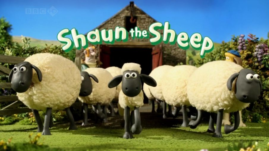 Shaun and his friends