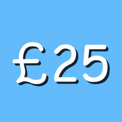 £25 Graphic